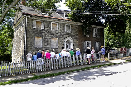 The John Roberts House in Canonsburg is protected by a preservation easement.