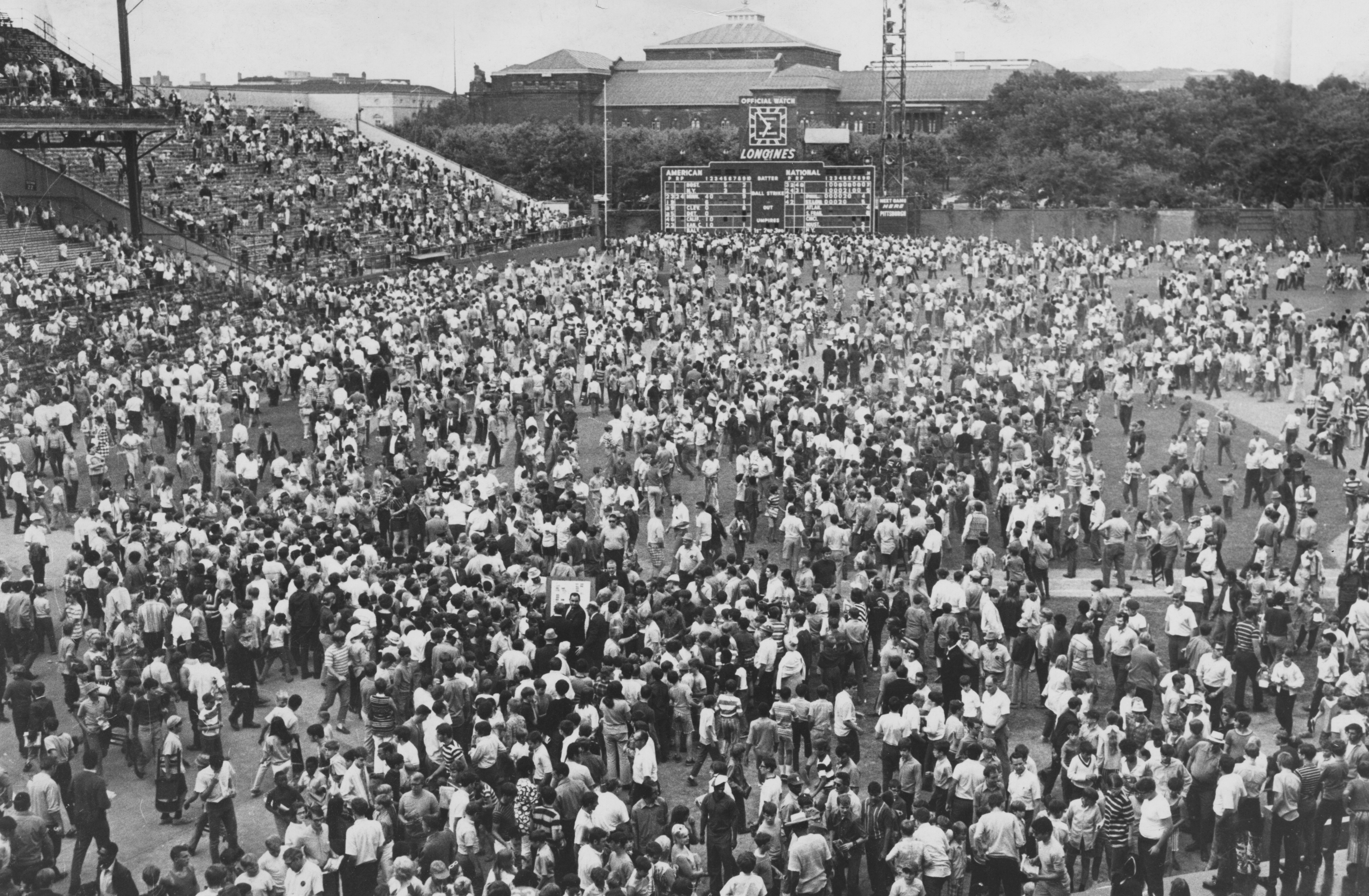 """forbes field essays and memories Fans claim pieces of forbes field after the last game there 1  with just my  memories when, suddenly, there was a mad rush toward the  the pg portfolio  welcomes """"baseball lore"""" submissions and other reader essays."""