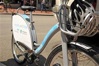 """A wide range of ages, backgrounds and experience levels will feel comfortable on these bikes,"" said David White, executive director of Pittsburgh Bike Share, about the Healthy Ride bikes being debuted Sunday as part of a new bike-share program in Pittsburgh."