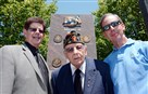 From left, son Victor Trilli, Art Trilli Sr., and son Art Trilli Jr. Four Trilli brothers from Monessen served in World War II. Art Sr.'s brother Victor died in the battle for Kasserine Pass in Tunisia, North Africa.