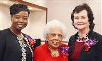 Ayisha Morgan-Lee, Doris Brevard and Magdeline Jensen.