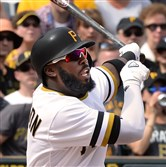 Pirates All-Star Josh Harrison isn't slumping anymore.