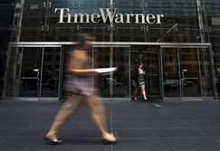 Time Warner Center in New York City. A series of mergers is remaking the market for broadband Internet and cable television in the United States.