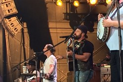 "The Zac Brown Band offered a wide-ranging menu, but stepped out with ""Homegrown,"" a song from the chart-topping new album, ""Jekyll + Hyde,"" aimed right at the heart of modern country radio."