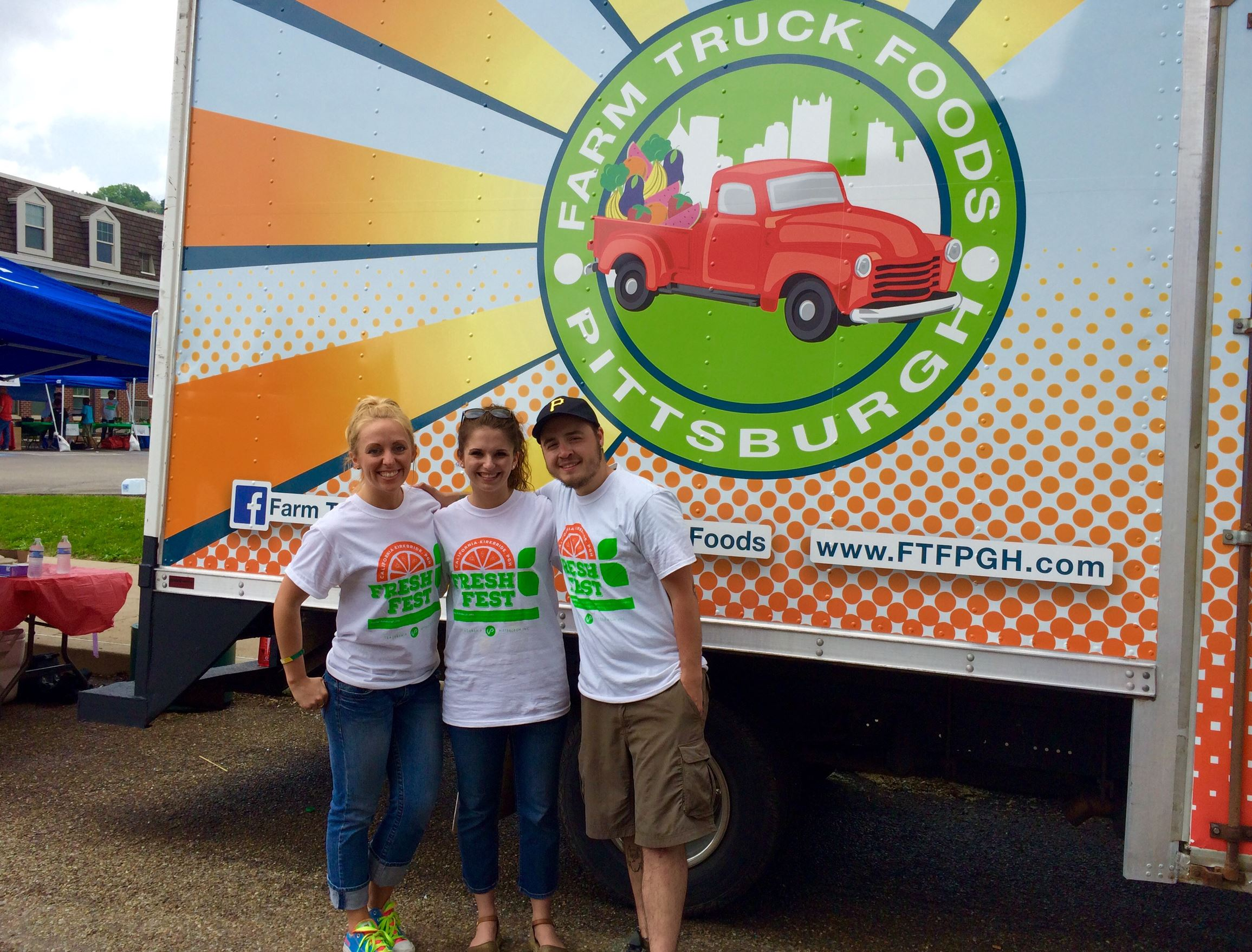 FarmTruck1 Farm Truck Food principals, from left, Michelle Lagree, Meredith Neel-Jurinko and Landon DePaulo.