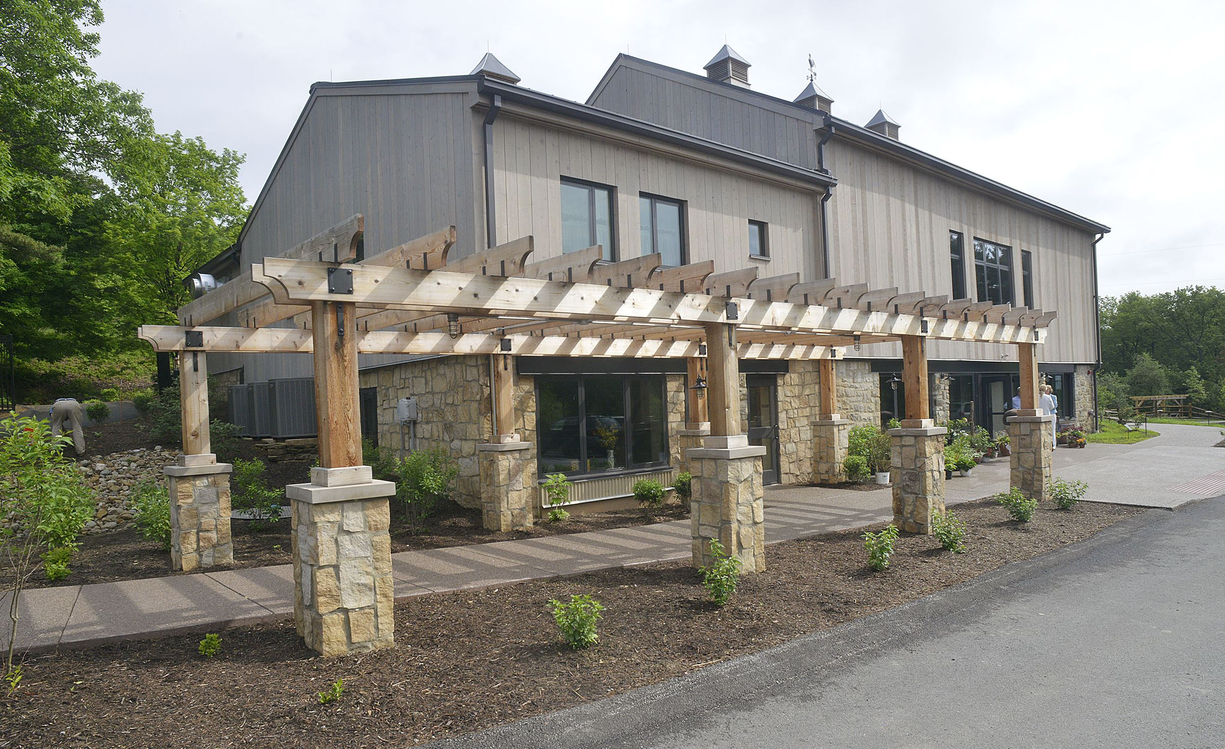20150527lralicewatersmag05-4 The Ada and George Davidson Event and Culinary Center, a newly restored 1870s barn at the Pittsburgh Botanic Garden in Oakdale, will be the site of the Botanic Garden's annual fundraiser on Sept. 12, a tribute to Alice Waters.