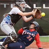 Catcher Madison Stoner has helped lead Hempfield to the Class AAAA championship game.