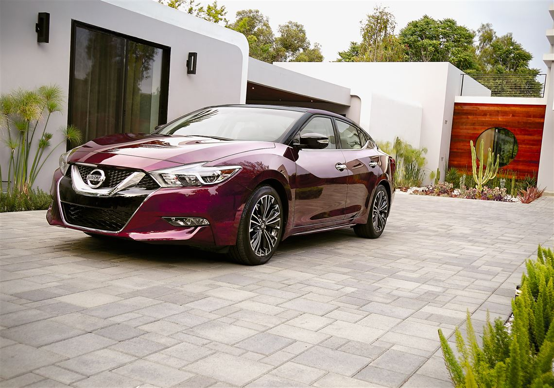 The 2016 Nissan Maxima Gets Handsome New Exterior Styling As Part Of A  Redesign, Plus