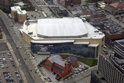 As part of a 2007 deal to build Consol Energy Center and keep the franchise in Pittsburgh, the Penguins acquired development rights to the site where the Mellon Arena had stood.