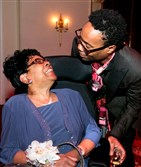 Cloerinda Ford with son, Billy Porter.