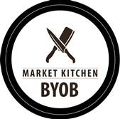 "This is the logo for the ""Be Your Own Boss"" contest by the  Pittsburgh Public Market for Food-Based Businesses (BYOB)."
