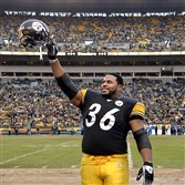 Jerome Bettis will enter the Pro Football Hall of Fame on Aug. 8.
