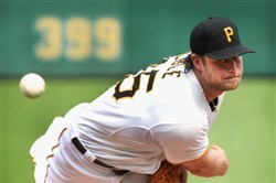 Pirates right-hander Gerrit Cole is 11-3 with a 2.16 ERA so far in his second full season in the majors.