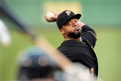 Pirates starter Francisco Liriano pitched eight shutout innings against the White Sox at PNC Park on Monday as Pittsburgh's starting rotation continues to roll this month.
