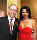 Marty Ashby and actress/singer Gloria Reuben.