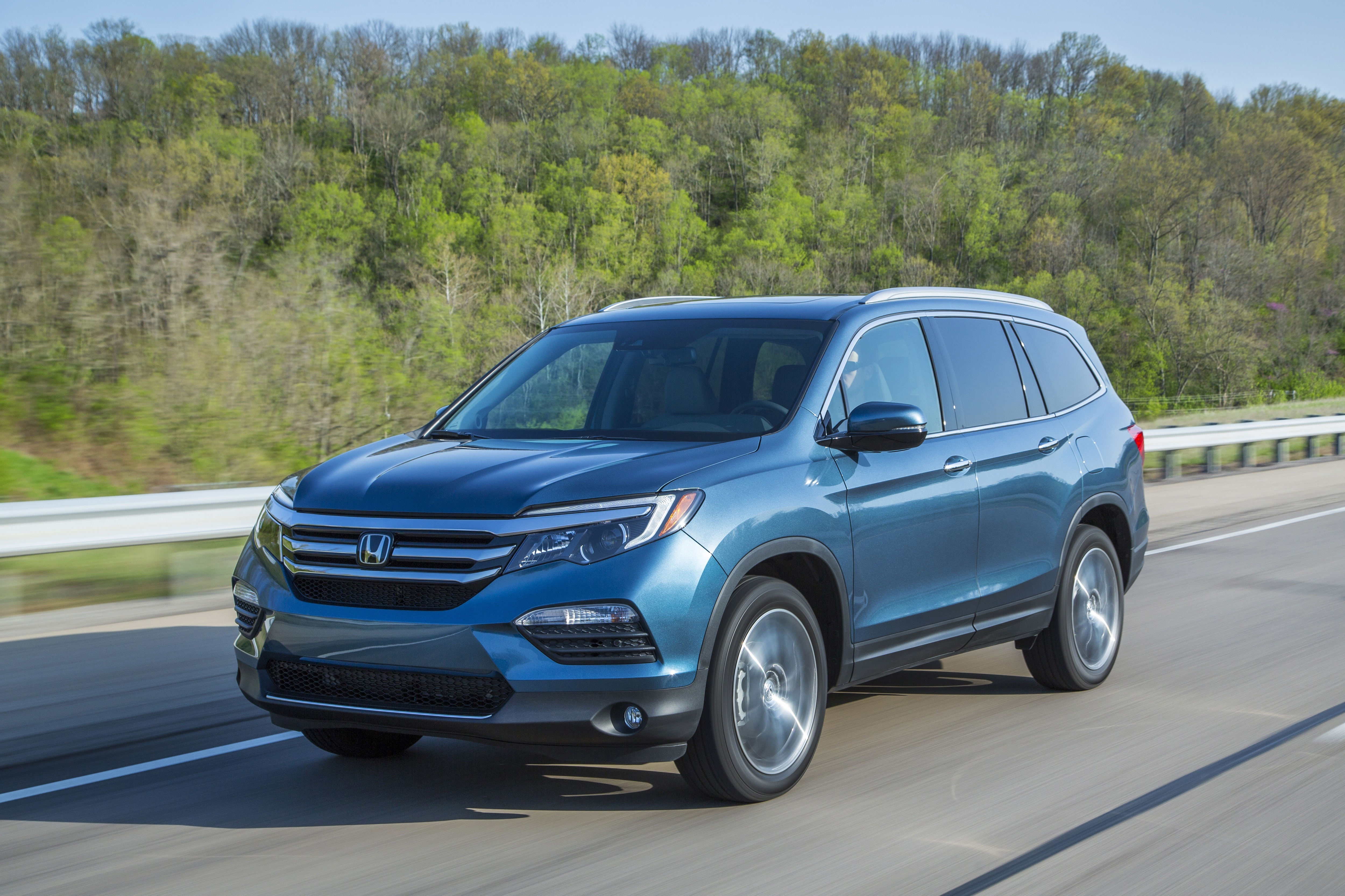 honda s redesigned 2016 pilot set to land in pittsburgh. Black Bedroom Furniture Sets. Home Design Ideas