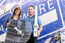 Becky Zajdel and Adam Longwill of Meta Mesh want their model of wireless mesh Internet networks to become a low-cost solution to connect low-income users.