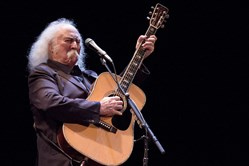 David Crosby at the Carnegie Music Hall of Homestead.
