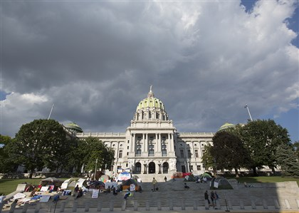 Last year's budget wasn't signed by then- Gov. Tom Corbett until July 10, and late budgets were regular features of the Rendell administration.