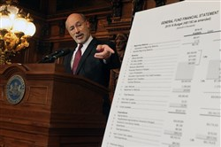 Gov. Tom Wolf vetoed Republican-backed budget legislation last week.
