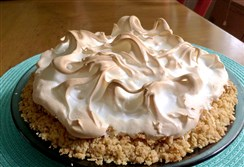 Atlantic Beach Pie has a creamy lemon filling in a salty, buttery, crunchy crust.