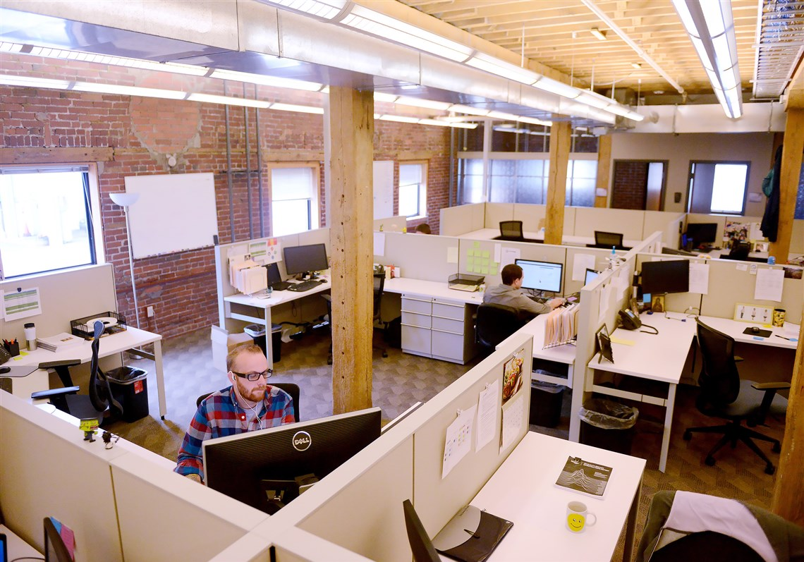 office design company. Wombat Engaged In Heavy-duty Renovations To Its Strip District Office, Tearing Down Walls Office Design Company I