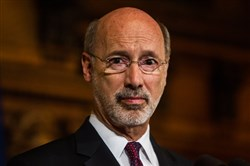 Gov. Tom Wolf said he is open to expanding the availability of wine and beer into more locations, such as supermarkets.