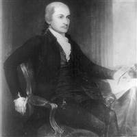 An undated painting of John Jay