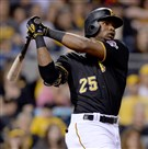 Gregory Polanco seems to be hitting his stride in the Pirates lineup after a period of struggles.