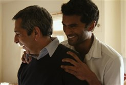 "Roshan Seth and Sendhil Ramamurthy play father and son in ""Brahmin Bulls."""