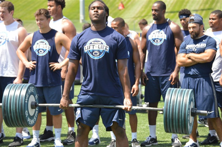 Penn State Lift for Life 2015 Reserve linebacker Gary Wooten Jr. joins starting linebacker Troy Reeder and reserve cornerback Daquan Worley who are also slated to leave the program.