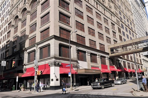 The former Macy's department store in Downtown