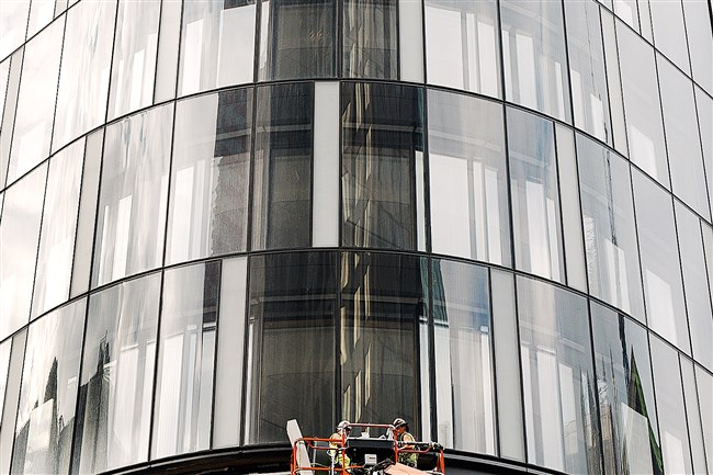 The Tower at PNC Plaza, Downtown, which opened in October 2015, features operable windows that circulate fresh air throughout the working space.
