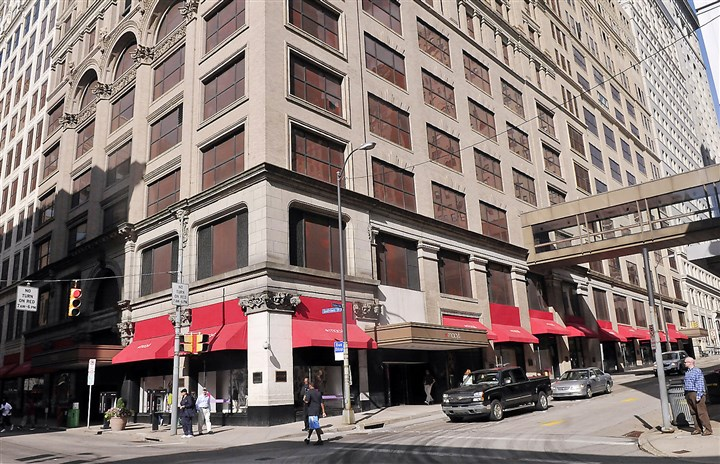 macys-2 Grant Street Associates has begun marketing Kaufmann's Grand on Fifth, which will feature retail in the former Macy's/Kaufmann's department store Downtown.
