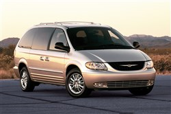 This 2002 Chrysler Town and Country minivan is among the 420,000 Fiat Chrysler minivans made in 2002 and 70,000 Kia Optima midsize sedans made in 2004 that are part of an investigation into possible defective airbags.