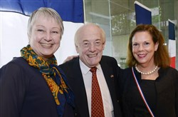 Jo Ellen Parker, Jean-Pierre Collet and Barbara Tucker.
