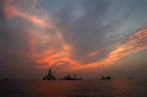 This 2010 photo shows vessels assisting in the drilling of the Deepwater Horizon relief well on the Gulf of Mexico near the coast of Louisiana at sunset. The BP leak, the worst-ever in offshore U.S. waters, occurred at a well that the company was in the process of temporarily closing. The accident killed 11 workers and spilled up to 172 million gallons of oil. Federal officials defend their well safety efforts since then, and there have more permanent closures. There were 25,928 permanently sealed wells in mid-May 2015, up 10 percent from 23,468 at the end of the BP spill, according to the AP analysis of federal data.