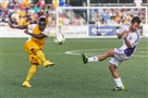 Riverhounds midfielder Stephen Okai won't make the trip to Louisville because of a lower left left injury.