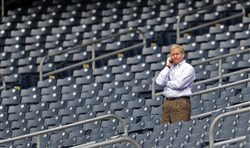 Pirates general manager Neal Huntington.