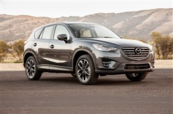 The 2016 Mazda CX-5 also offers cargo capacity above 65 cubic feet, so it's a match for the SportWagen as well.