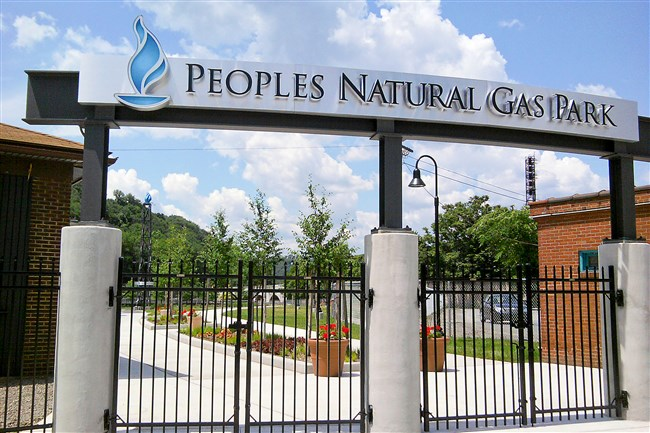 Peoples Natural Gas Park in Johnstown was completed with the help of a $500,000 from the gas utility.