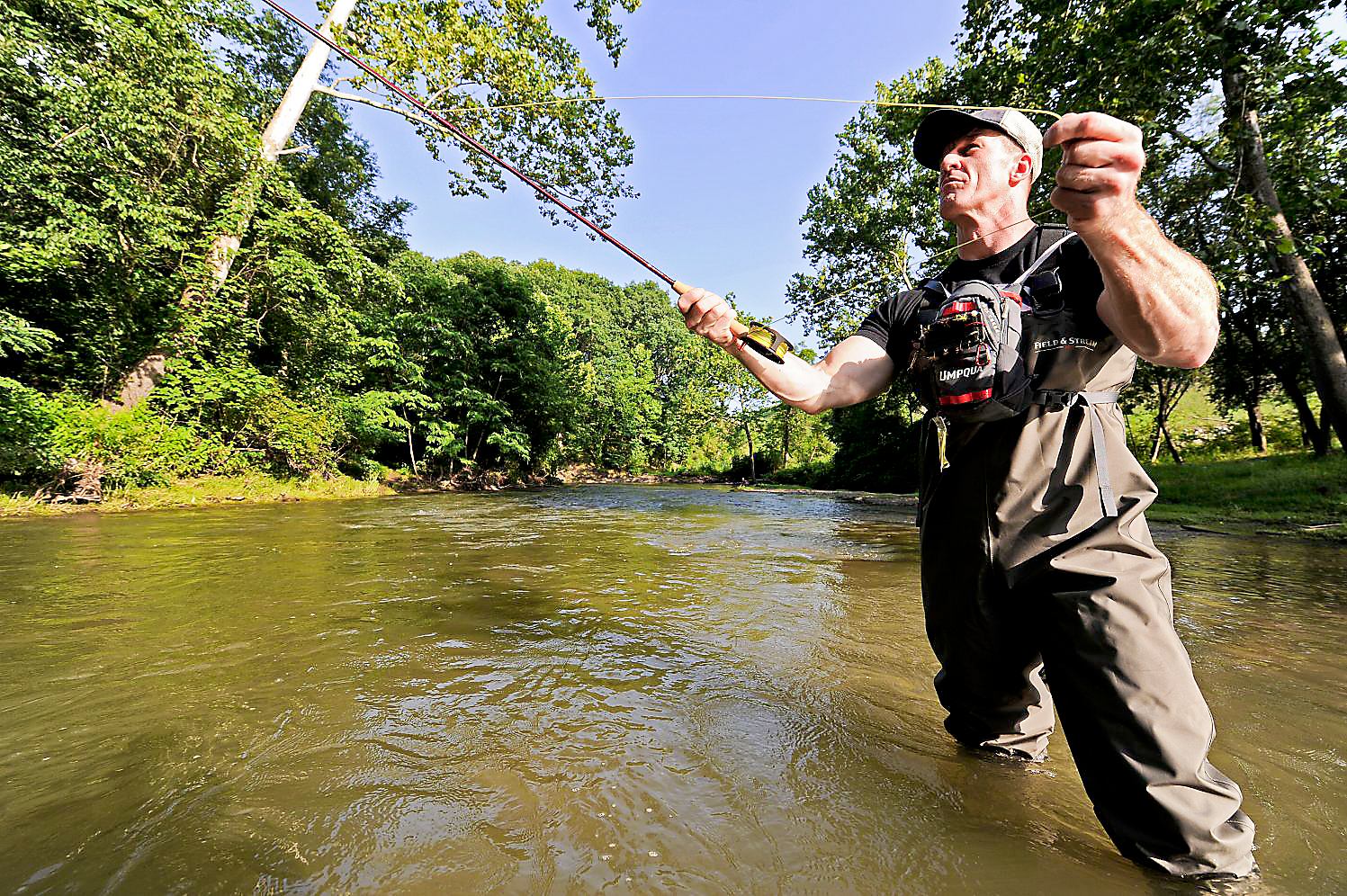 Addiction knows no bounds one professional s fight with for Fishing in pittsburgh