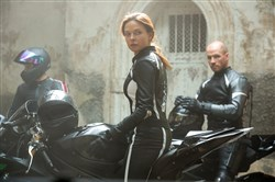 "Rebecca Ferguson plays Ilsa in ""Mission: Impossible - Rogue Nation."""