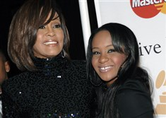 Bobbi Kristina Brown, the daughter of Whitney Houston and R&B singer Bobby Brown, died on Sunday.