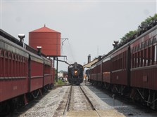The Strasburg Railroad began excursion rides in 1959, and continues to offer one-hour round-trips from Strasburg to Paradise, Pa.