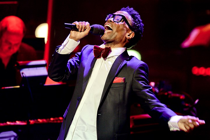 "BillyPorter2-1 Billy Porter, star of the Broadway hit ""Kinky Boots,"" performs songs from his latest album and other favorites for his PBS ""Live From Lincoln Center"" concert in April"