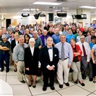 Members of the Post-Gazette editorial staff gathered in the newspaper's newsroom at 34 Boulevard of the Allies on July 9, 2015.