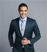 "Trevor Noah will succeed Jon Stewart on the anchor desk of Comedy Central's ""The Daily Show."""