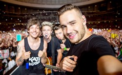 One Direction -- Louis Tomlinson, Niall Horan, Harry Styles and Liam Payne -- are playing at Heinz Field this weekend.