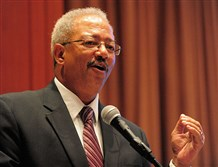 "U.S. Rep. Chaka Fattah, D-Philadelphia, is accused of accepting a $1 million illegal loan for his failed 2007 mayoral campaign from a ""wealthy supporter."""